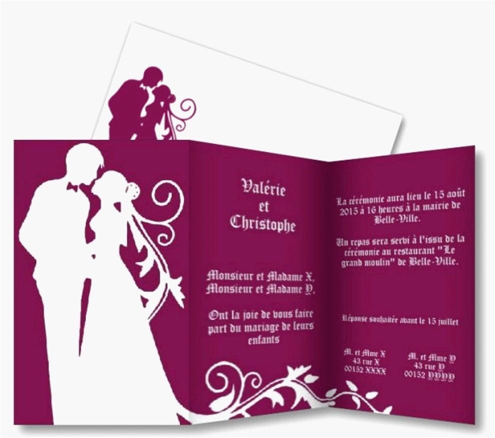 Télécharger Faire Part Mariage Gratuit