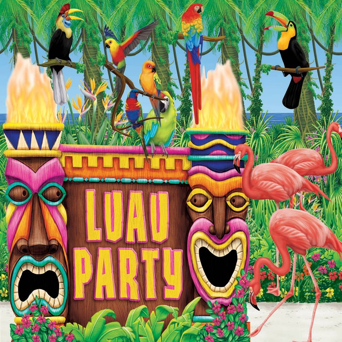 Luau Themed Party Decorations