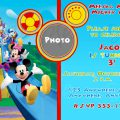 Micky Mouse Clubhouse Invitations