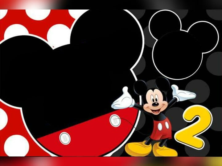 Mickey Mouse Invitation Template Free Premium Templates Intended