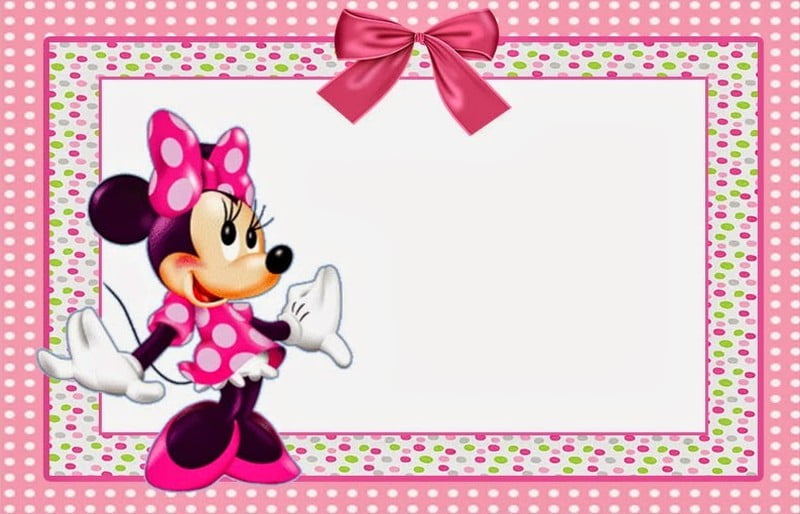 Minnie Mouse Baby Shower Invitations Printables Free Minnie Mouse