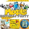 Lego Mixels Invitation For Partys