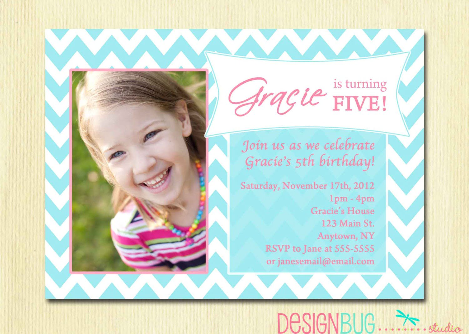 One Year Old Birthday Party Invitations Luxury Invitation For One