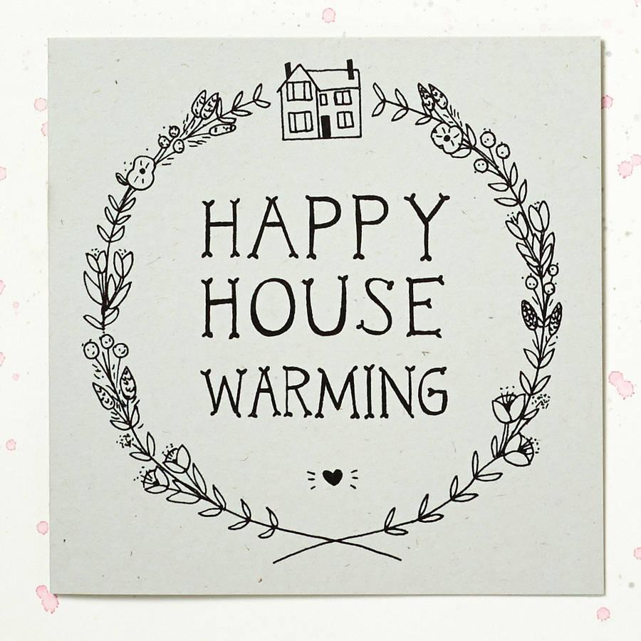 Housewarming Card Printable