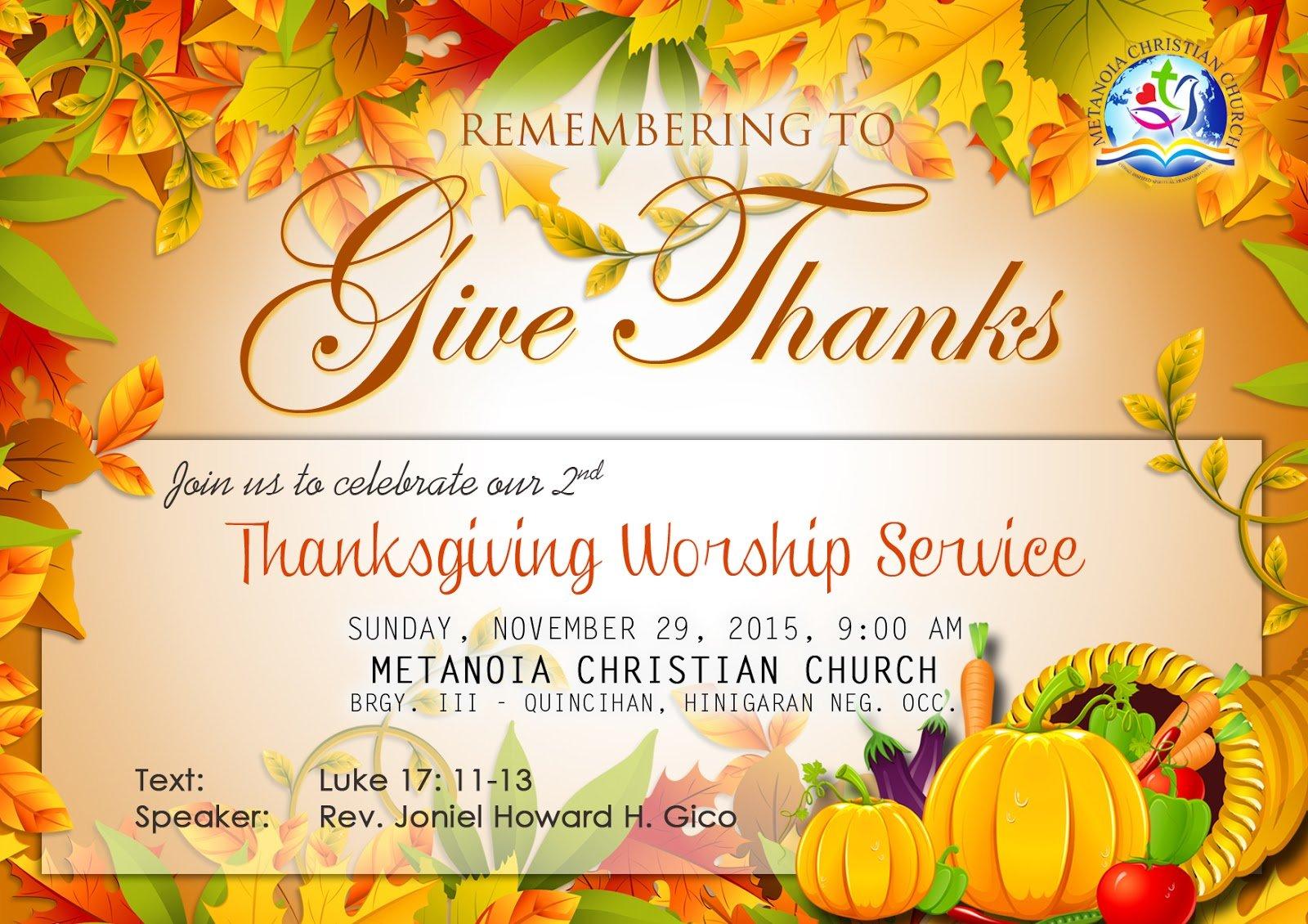 Akon Drawing!  Mcc Thanksgiving Invitation