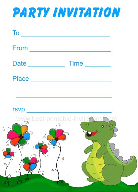 Dinosaur Birthday Invitations Spectacular Dinosaurs Birthday