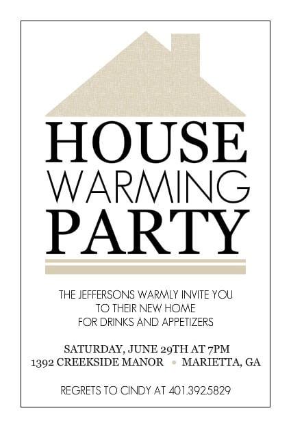 Invitation Template  Free Housewarming Invitation Templates