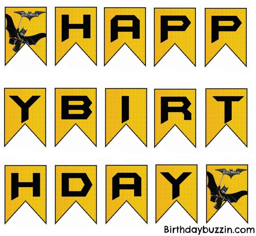 Lego Batman Birthday Party Ideas And Themed Supplies
