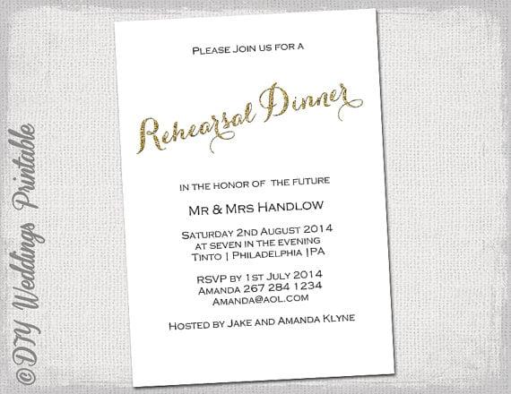 Invitation  Rehearsal Dinner Invitations Templates