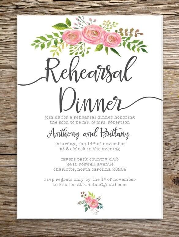 Diy Rehearsal Dinner Invitations Marialonghi Wedding Rehearsal