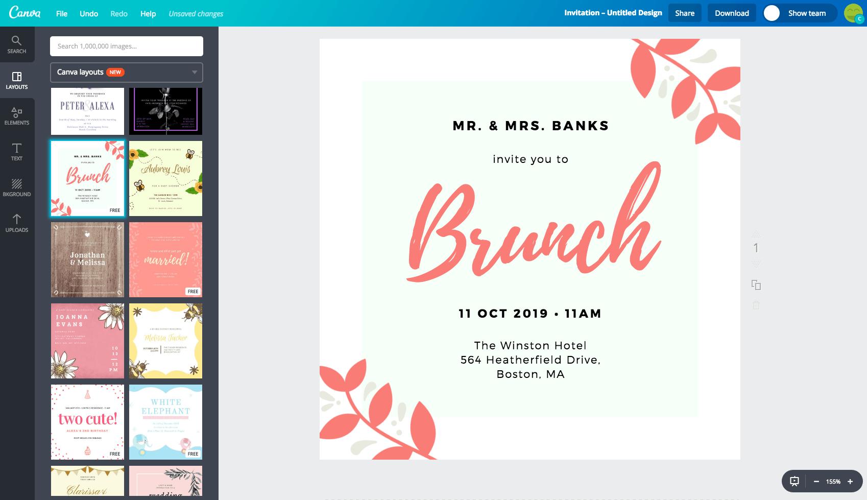 Invitation Maker  Design Your Own Custom Invitation Cards