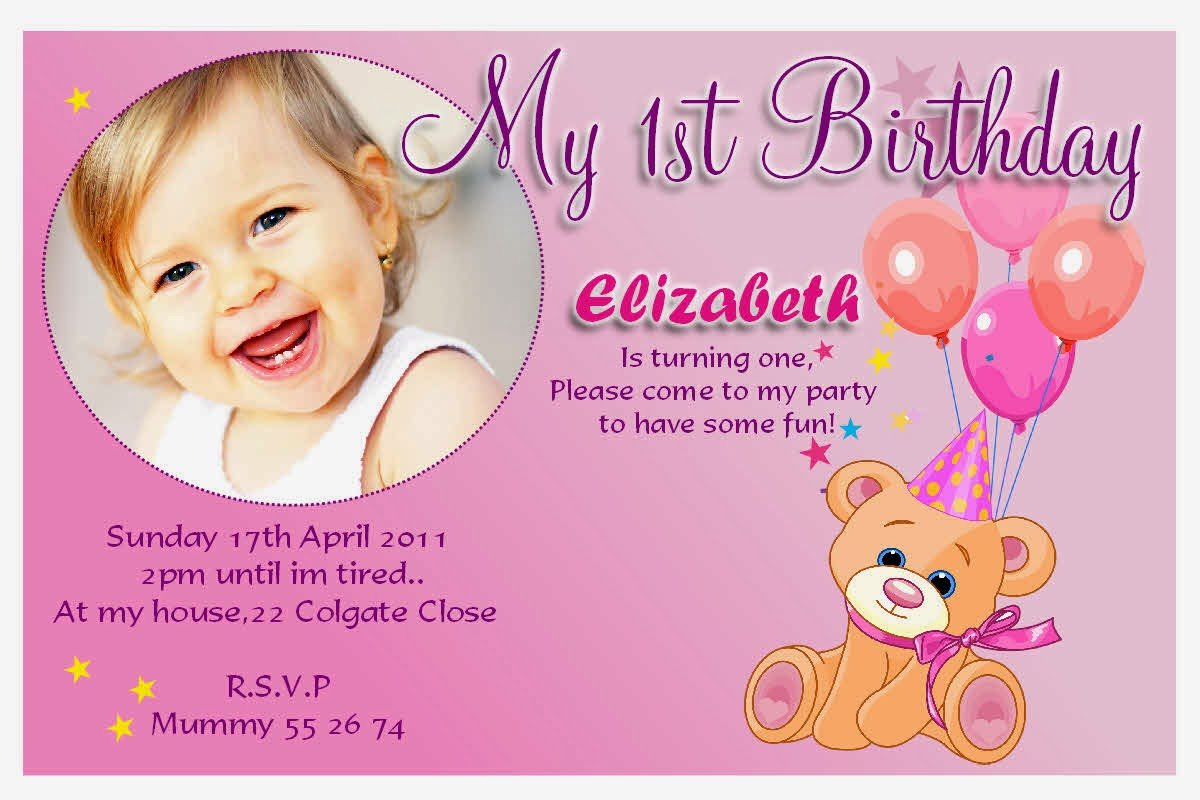 Simple Sample Invitation Card For Birthday 85 For Your Card Design