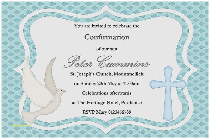 Baptism And Confirmation Invitation Epic Confirmation Invitations