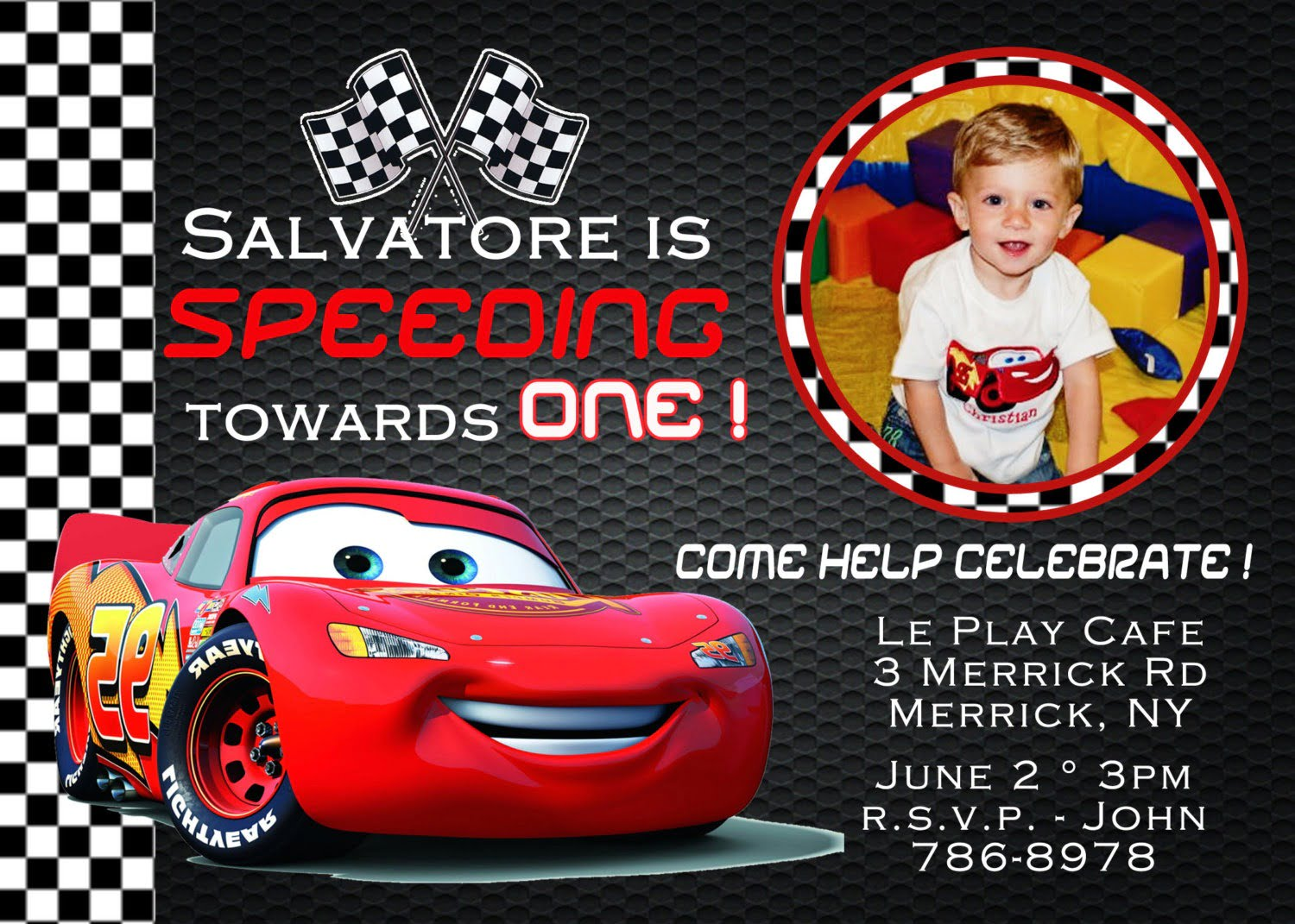 Superb Disney Cars Birthday Party Invitations 36 For Your Picture
