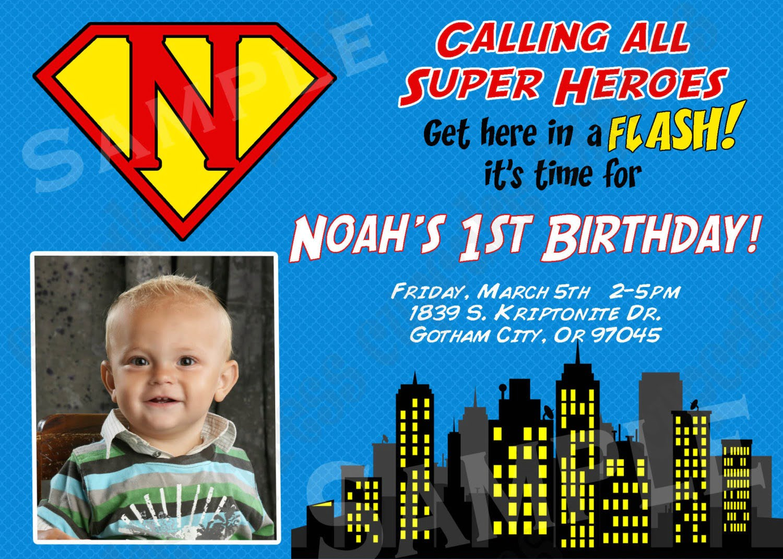 Batman Boy Free Evite Birthday Party Invitations – Free Invitation