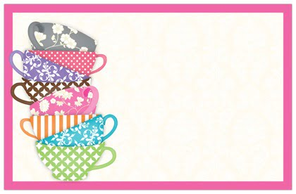 Tea Party Invitation Template Is Astonishing Ideas Which Can Be