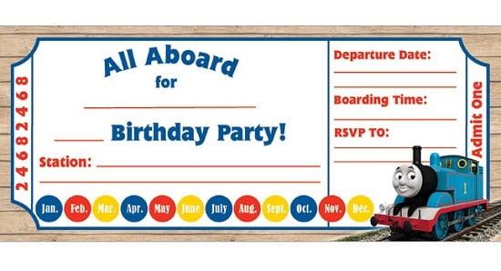 Train Invitations Lovely Train Party Invitations Templates