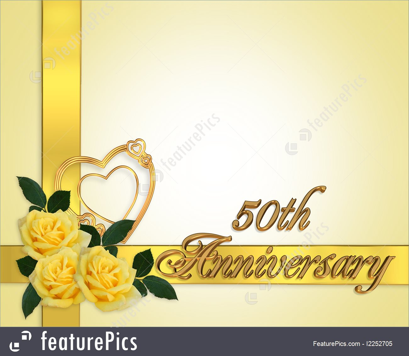 Templates  Wedding Anniversary 50th Background