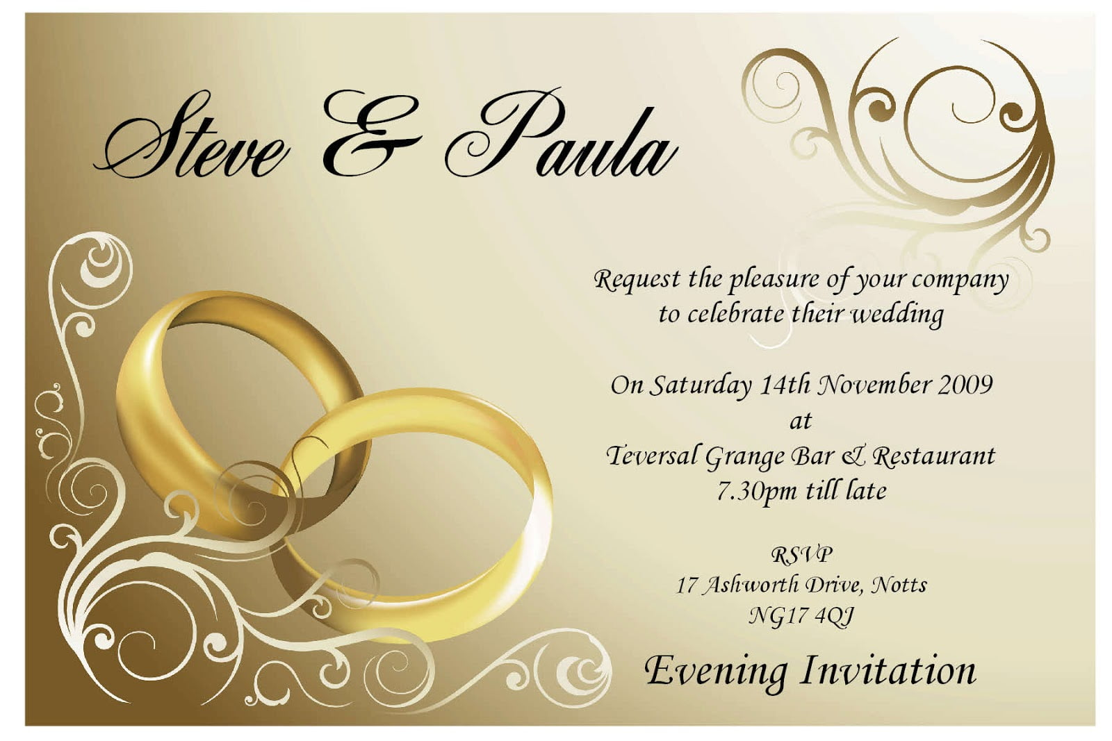 Wedding Card Invitation And Get Inspiration To Create The Wedding