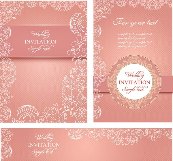 Wedding Invitation Design Templates Free Download Perfect With