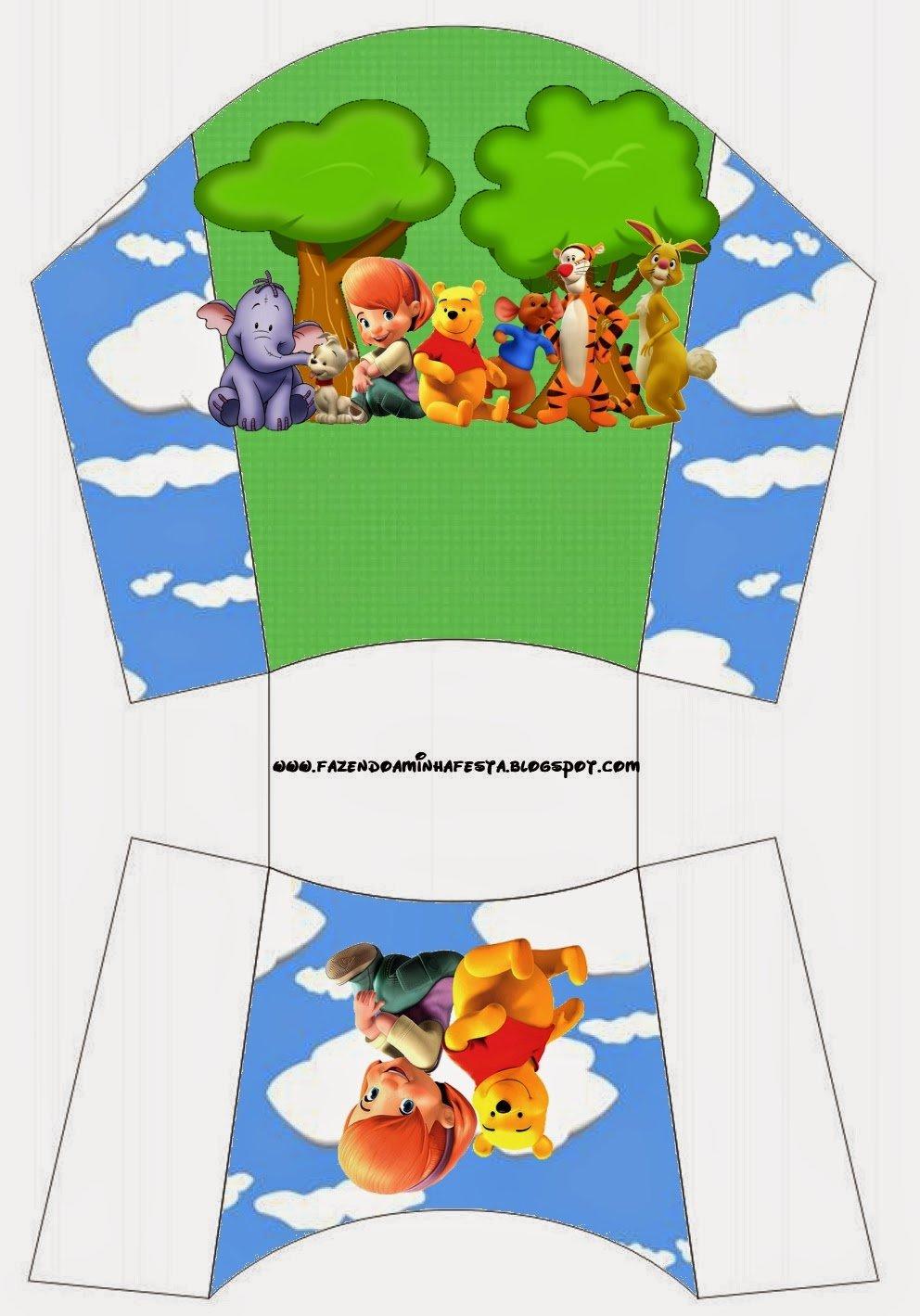 Winnie The Pooh  Free Printable Boxes
