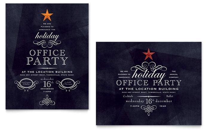 Cbdcebafccf Holiday Party Invitations Flats Perfect Free Holiday