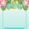 Hawaiian Invitations Free Templates