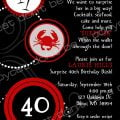 Suprise 40th Birithday Invitation Images