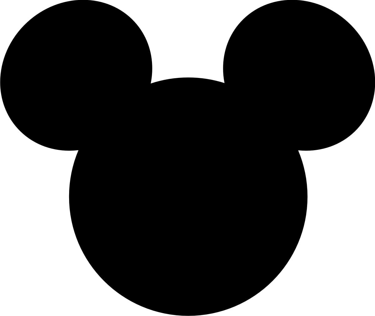 Mickey Mouse Large Printable Cutouts