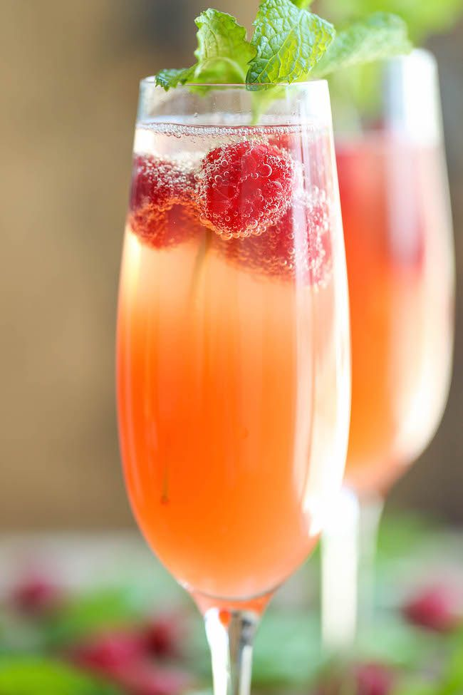 Mimosa Punch Drink