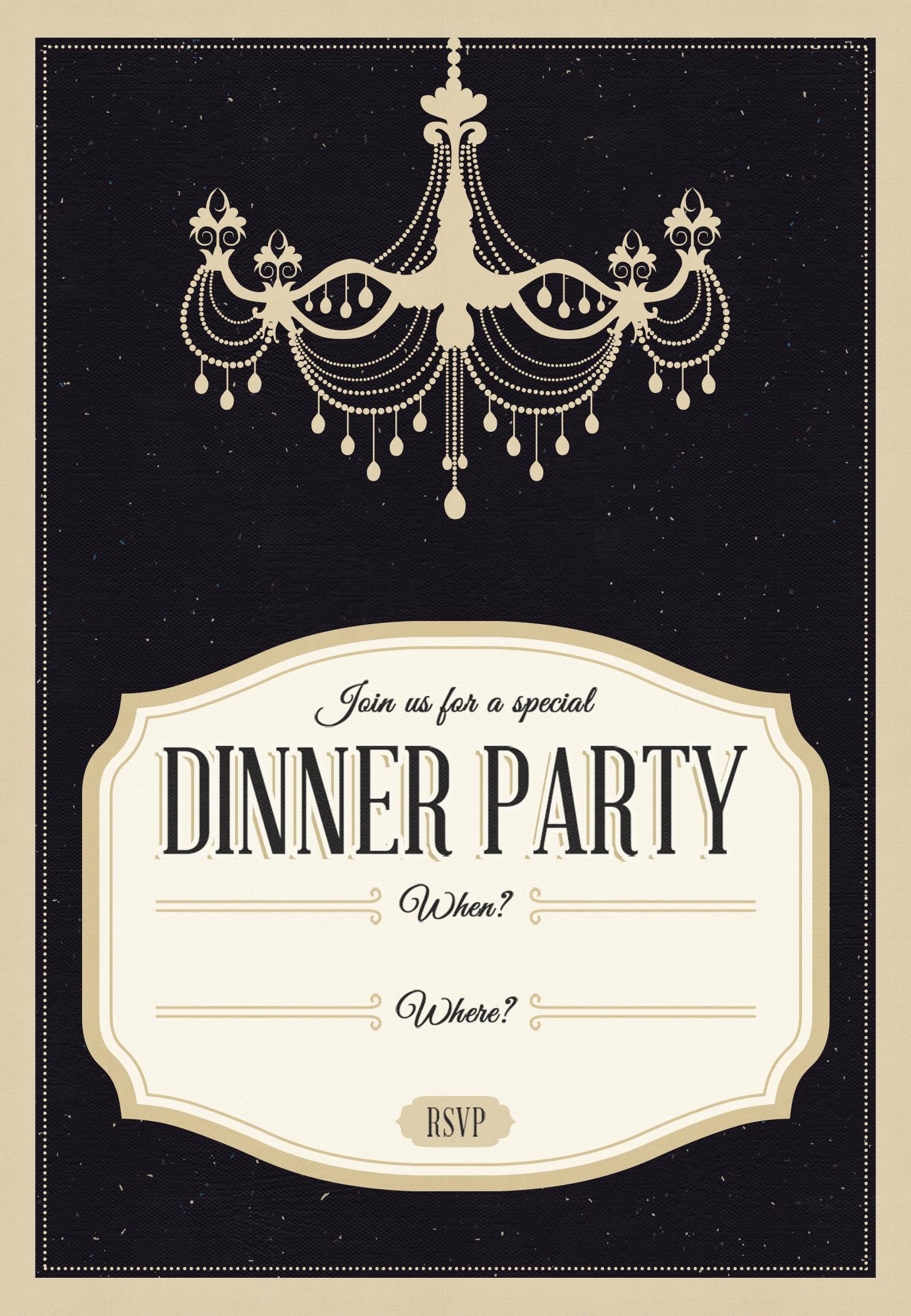 Abeadacddbeea List Of Dinner Party Invitation Templates Free
