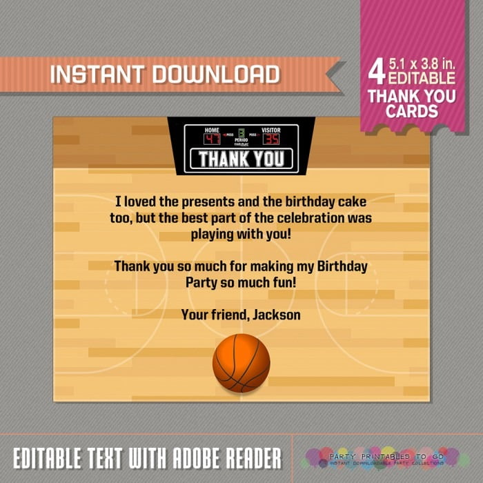 Free Printable Basketball Ticket Invitations