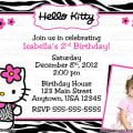 Hello Kitty 7th Bday Party