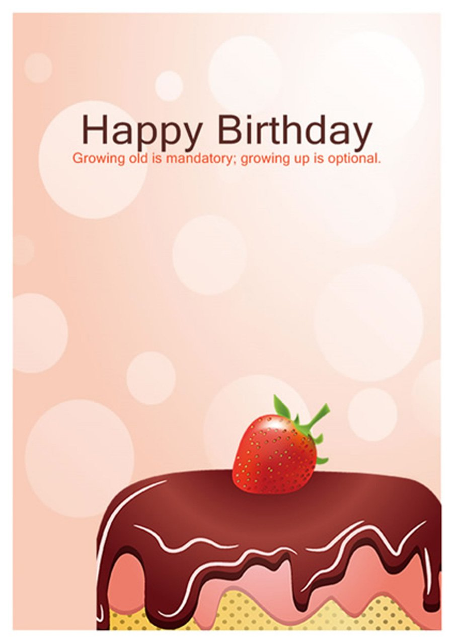40+ Free Birthday Card Templates
