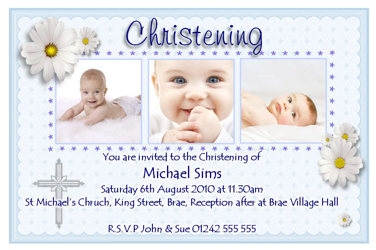 Cool Christening Invitation Card Maker Free Download 76 About Card