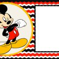 Birthday Invitation Templates For Kids Minnie Mouse