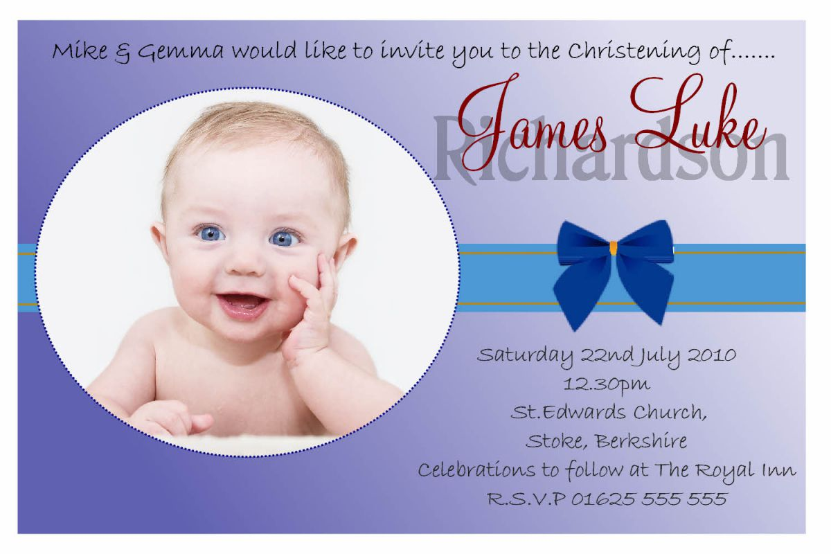 Elegant Sample Invitation Card For Baptism 63 For Card Invitation