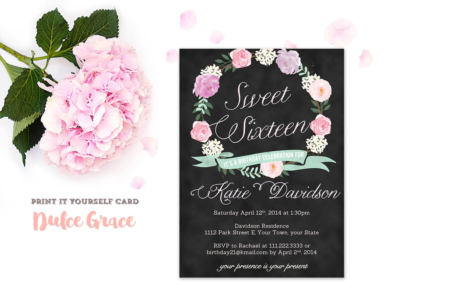 Elegant Sweet Sixteen Invitation 87 For Hd Image Picture With