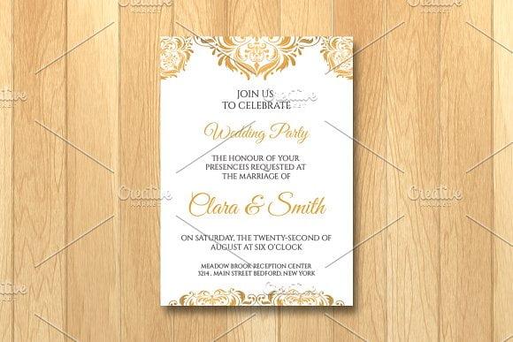 Epic Invitation Card Templates