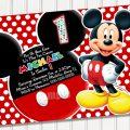 Free Mickey Printable Invitations