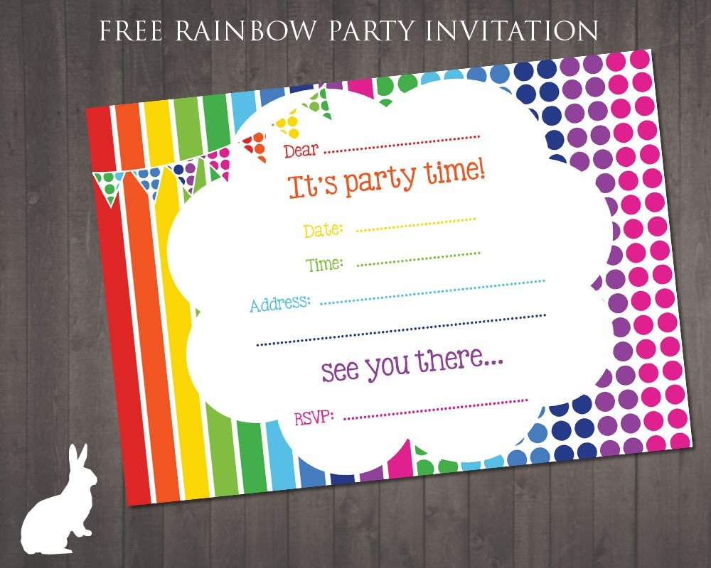 Party Invitation Free
