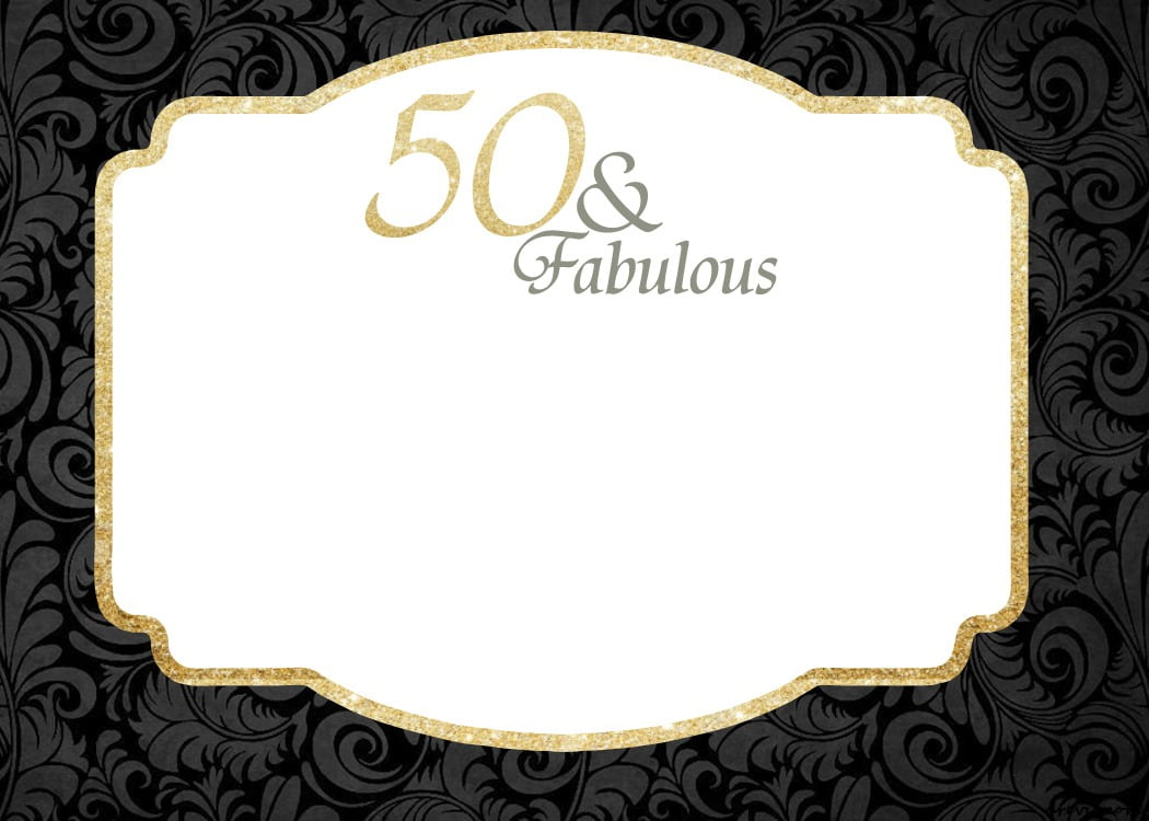 50th Birthday Templates