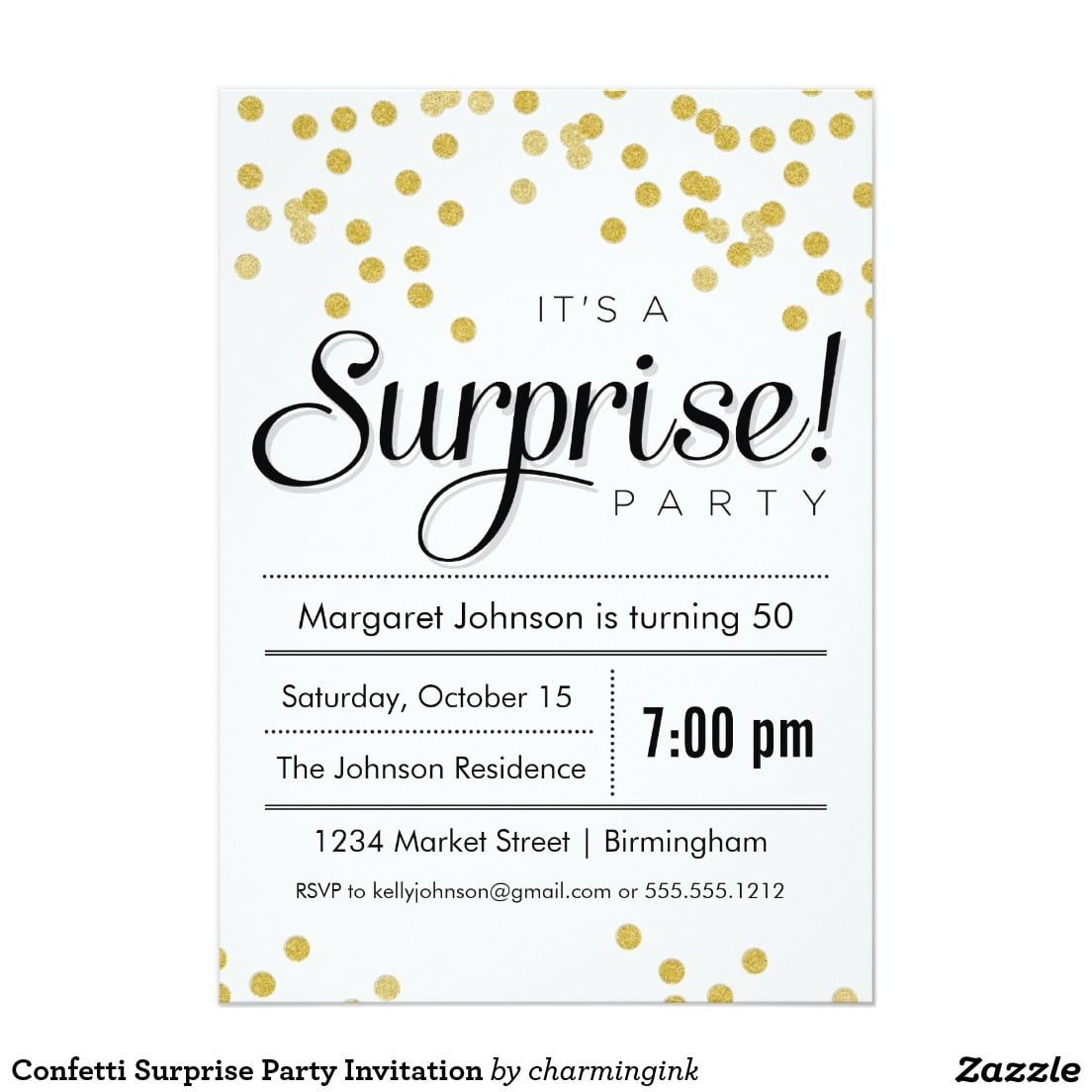 Surprise Birthday Invitations Free Archives