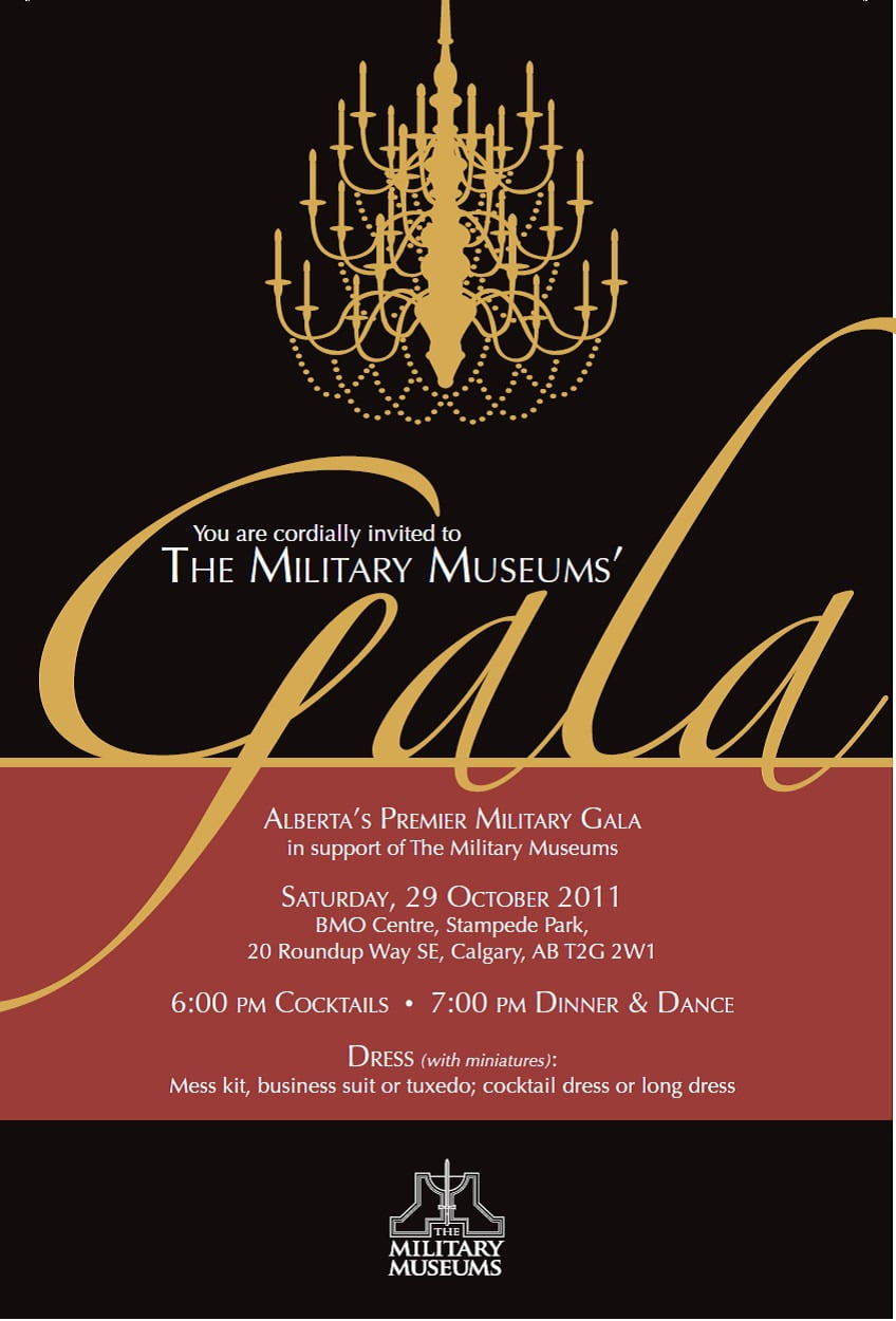 Gala Event Invitation Samples Archives