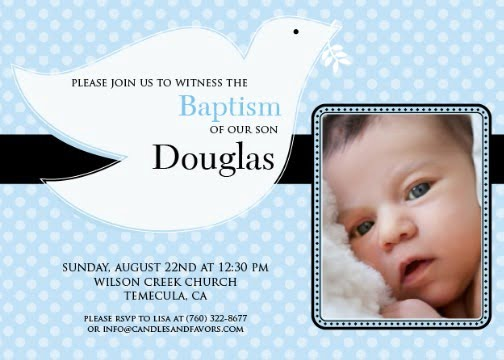 Invitation For Baptism Sample Invitation Card Christening