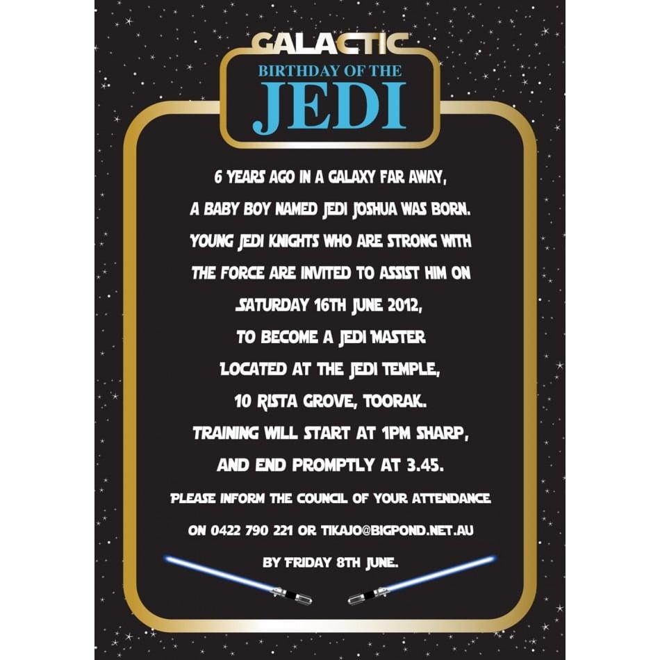 Invitation Invitation Wording Star Wars Birthday And On Star Wars