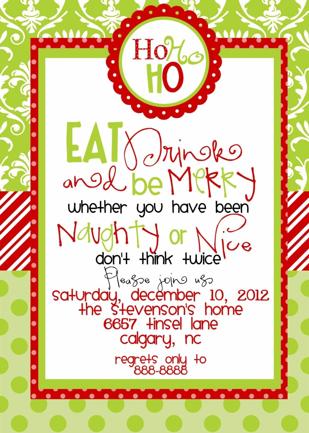 Invitation Template Christmas Party Invitation Templates Free