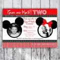 Free Mickey And Minnie Invitation Templates