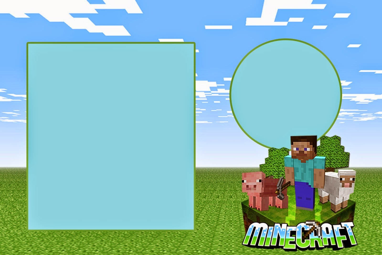 Minecraft Free Printable Kit Fabulous Minecraft Invitation