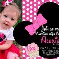 Free Digital Minnie Mouse Invitations
